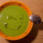 Erbsen-Kokos-Suppe