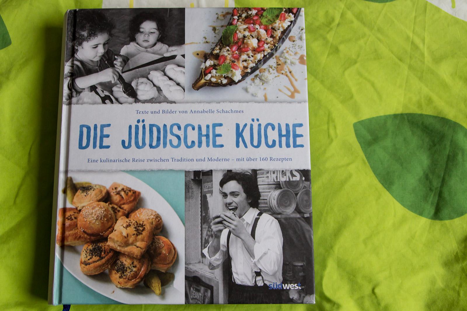 """Das Titelbild vom Buch """"Die jüdische Küche"""""""