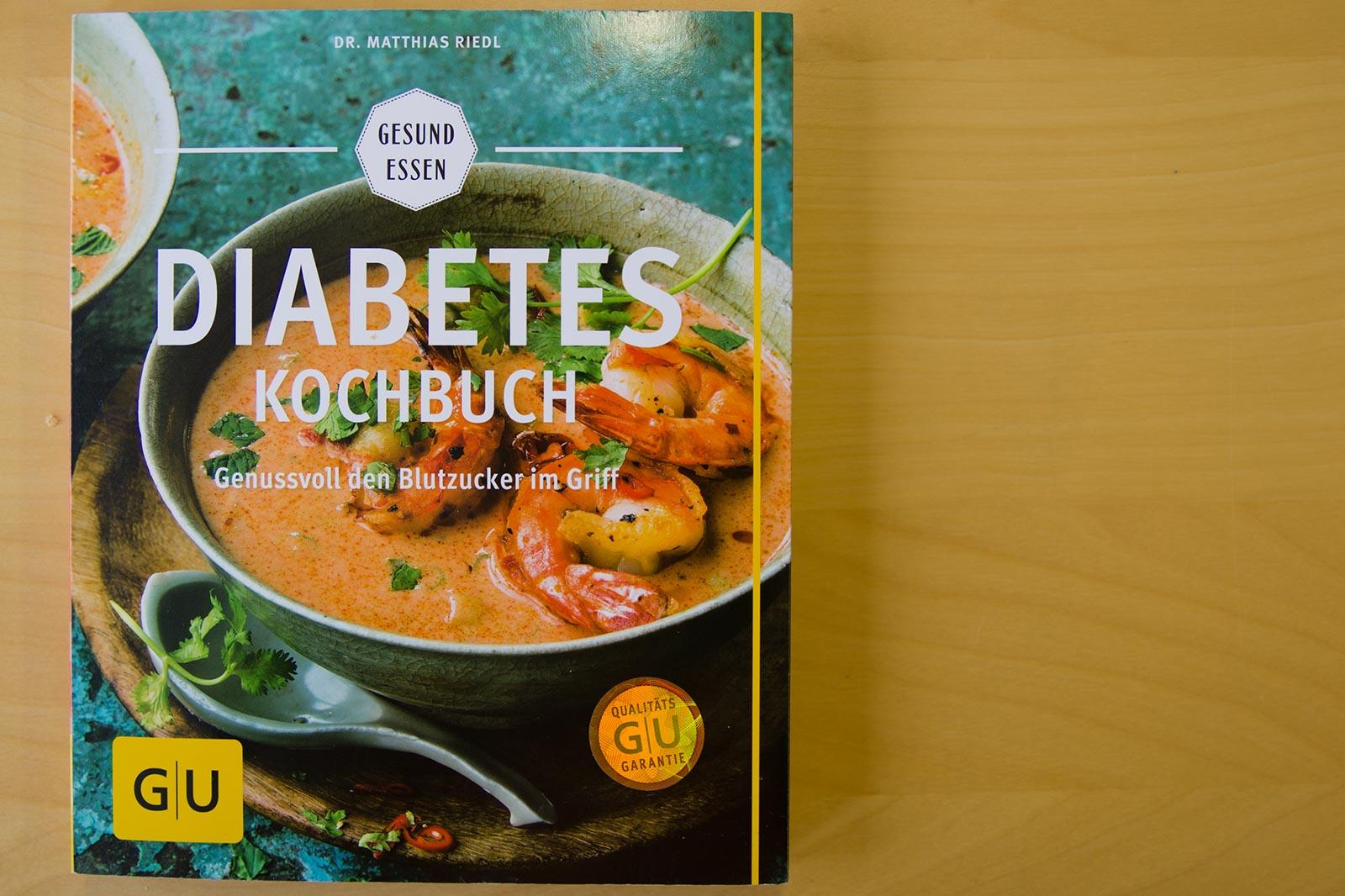 Das Titelbild vom Diabetes Kochbuch