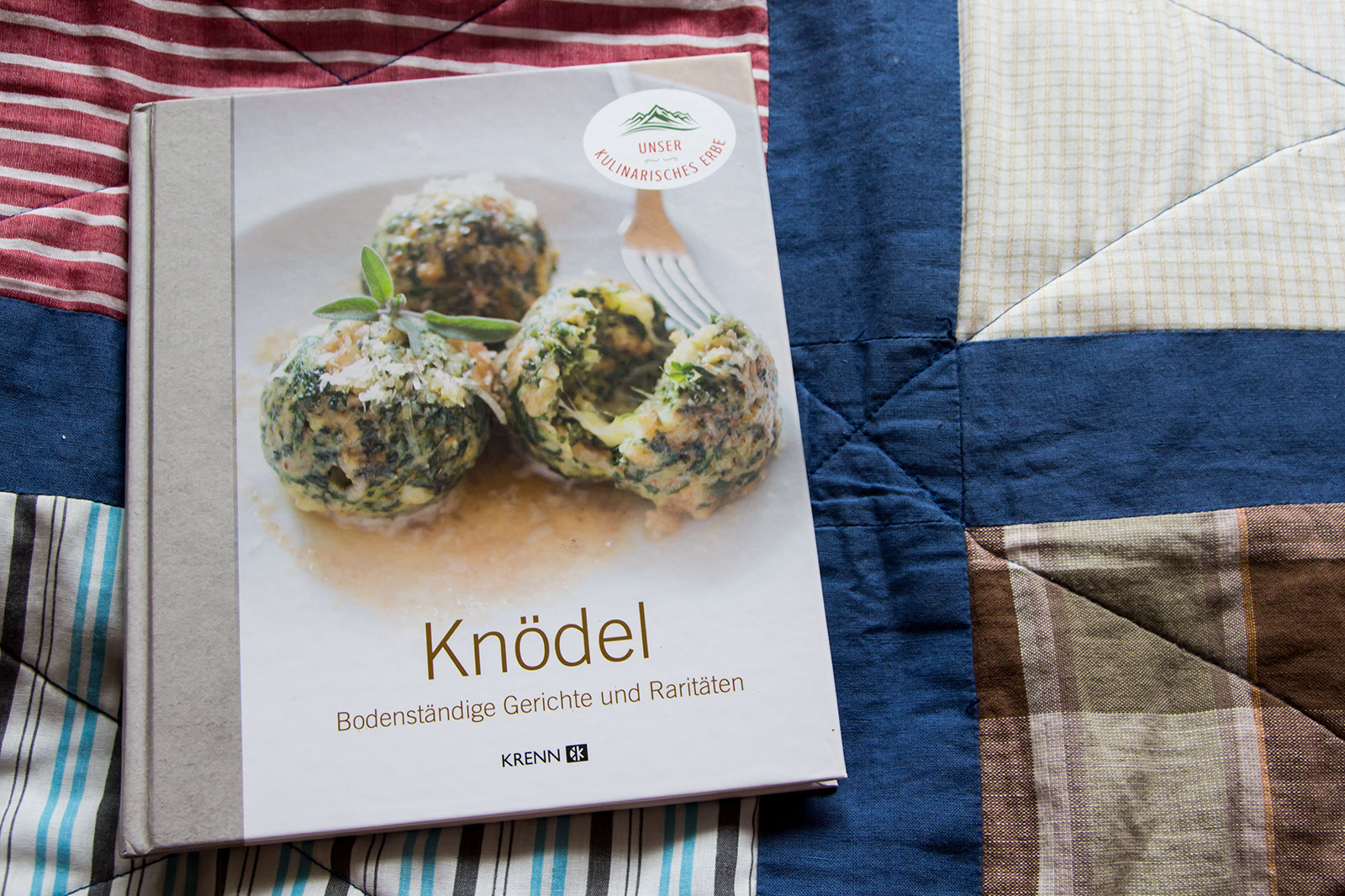Das Cover vom Knödel Kochbuch