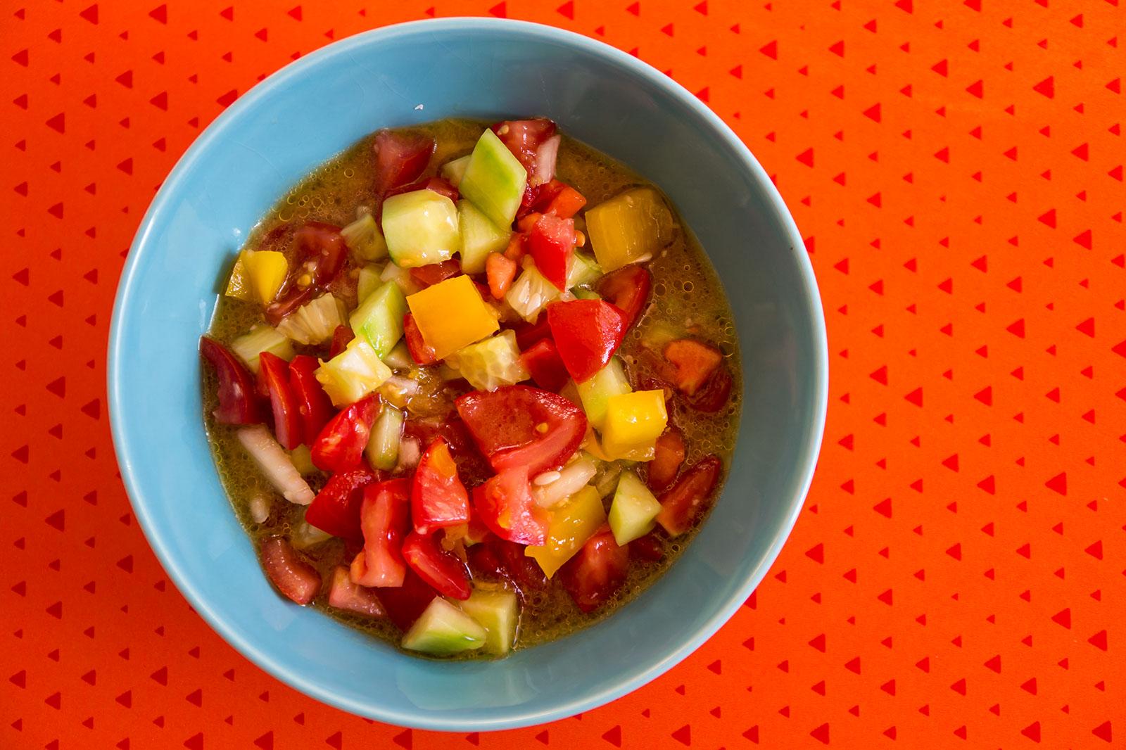 Pipirrana Jaenera - der spanische Salat