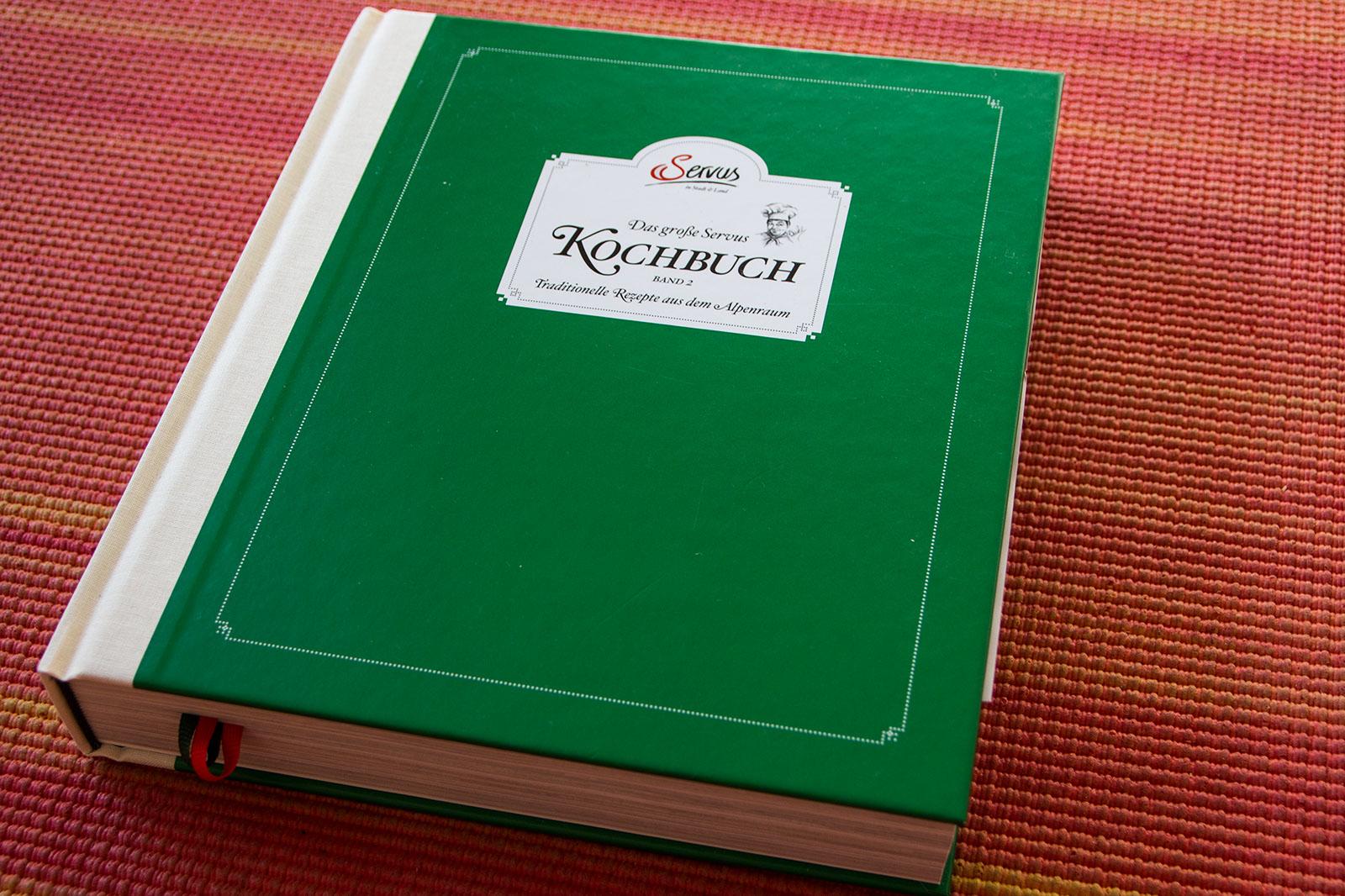 "Das grüne, dicke Kochbuch: ""Das große Servus Kochbuch - Band 2"""